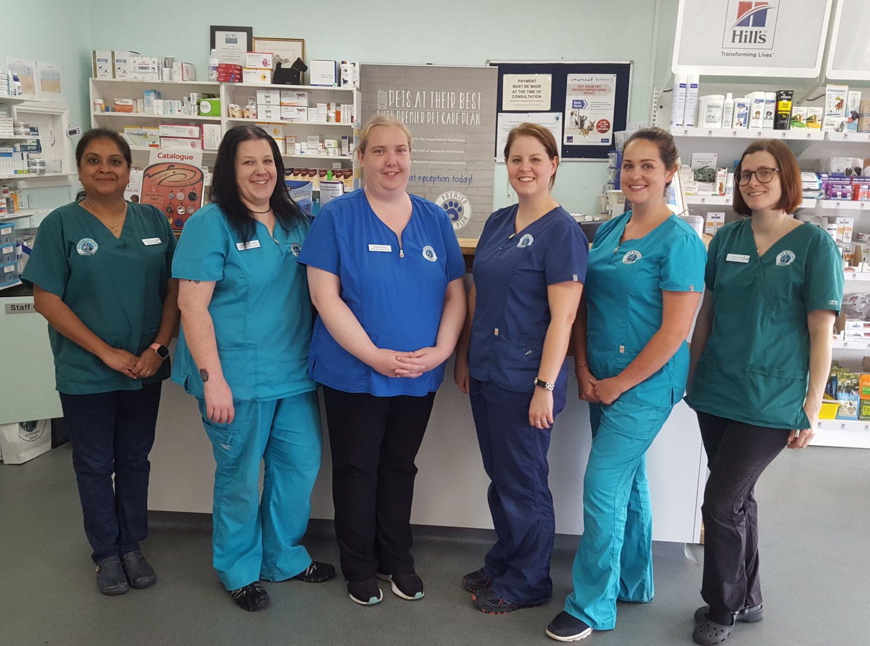 Basingstoke Vets - Reception of Veterinary Practice in Basingstoke Hampshire